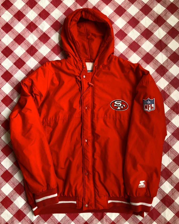 new style 5bda1 eb36c 80's San Francisco 49ers Starter NFL Zip Up Jacket Size XL