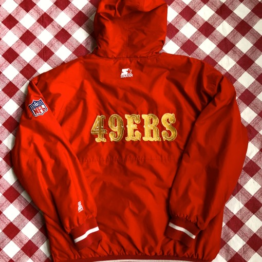 vintage 80's San Francisco 49ers Starter winter jacket size large