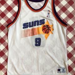 90's Dan Marjerle Phoenix Suns Champion NBA Jersey size 48