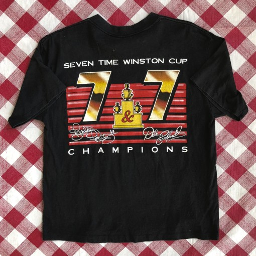 vintage 1995 Dale Earnhardt 7 Time winston cup champions t shirt vintage size large