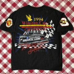 1994 Dale Earnhardt vintage 7 time champion nascar t shirt size XL