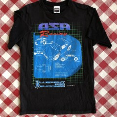 vintage 1994 ASA racing tultex t shirt size large 90's