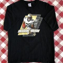 vintage 00's Reggie Bush new Orleans saints nfl t shirt size large