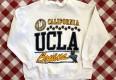 vintage 80's UCLA bruins NCAA crewneck sweatshirt