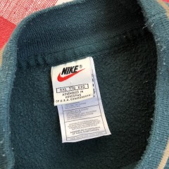vintage 90's Nike Swoosh crewneck sweatshirt size XXL green