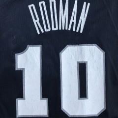 vintage 90's Dennis Rodman San Antonio Spurs Champion NBA jersey size 44 large
