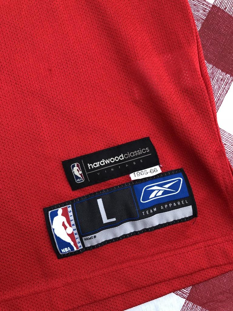 8d118e08a41 1965-66 Allen Iverson Philadelphia Sixers 76ers Hardwood classics NBA  throwback jersey reebok size large