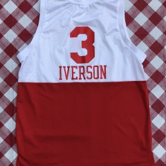 1965-66 Allen Iverson Philadelphia Sixers 76ers Hardwood classics NBA throwback jersey reebok size large