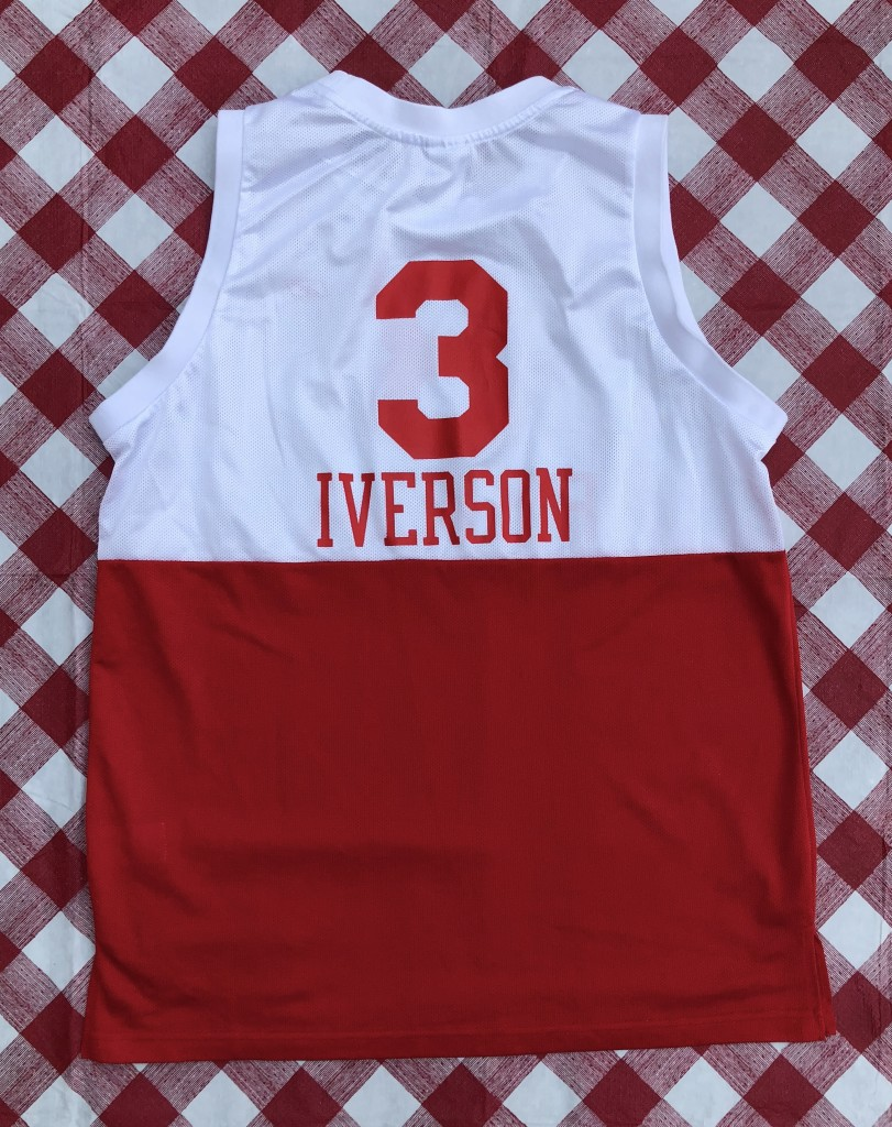 1965-66 Allen Iverson Philadelphia Sixers 76ers Hardwood classics NBA  throwback jersey reebok size large 4c9a31ea7