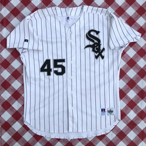 vintage 1994 Chicago White Sox Michael jordan authentic russell diamond collection mlb jersey size 48 XL