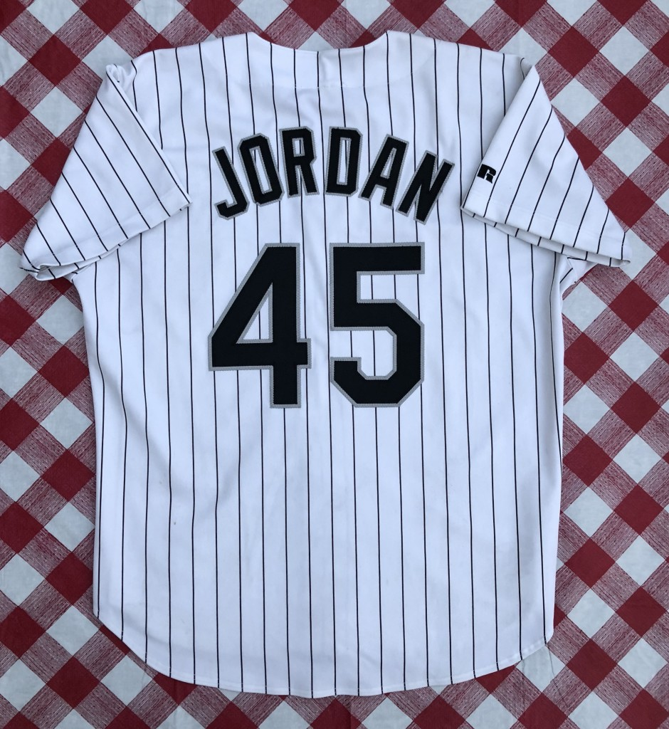 ca4a065a07c vintage 1994 Chicago White Sox Michael jordan authentic russell diamond  collection mlb jersey size 48 XL