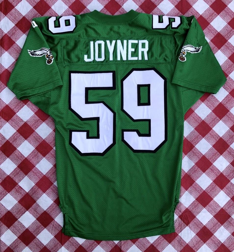vintage 90 s Seth Joyner Philadelphia Eagles Authentic Wilson pro line nfl  jersey size 44 large b16e35397