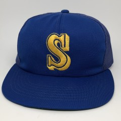 vintage 80's Seattle Mariners Sports Specialties Mesh MLB trucker hat