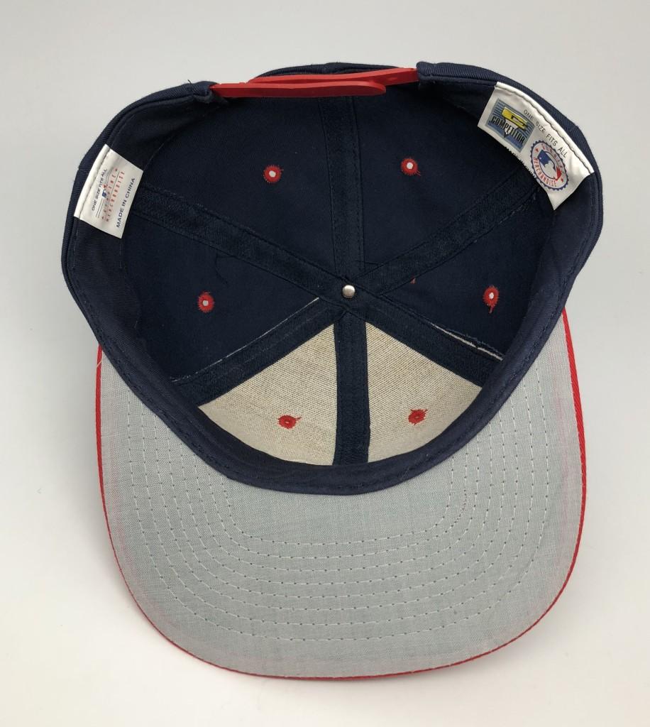 93b75ed4f4e 90's Atlanta Braves Competitor MLB Snapback Hat | Rare Vntg