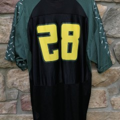 vintage jonathan stewart university of oregon nike ncaa football jersey size xl