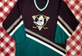 90's Anaheim Mighty Ducks Eggplant CCM NHL Jersey Size XL