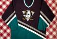 90's Anaheim Mighty Ducks Eggplant CCM NHL Jersey Size XL