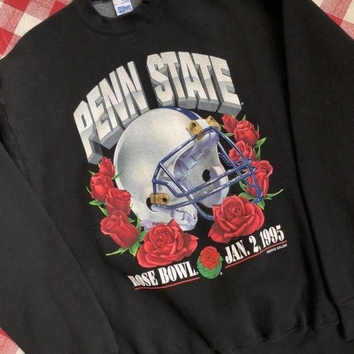 1995 Penn State Nittany Lions Rose Bowl Salem Sportswear NCAA Crewneck Size XL