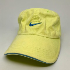 90's Nike Strapback Dad Hat Lime Green