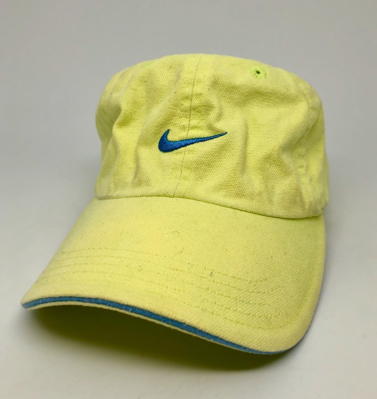 90 s Nike Strapback Dad Hat Lime Green  63479f5244e