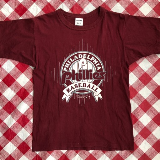 1991 Philadelphia Phillies Starter MLB T Shirt Size Medium