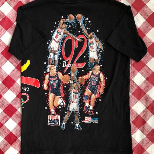 1992 Dream Team USA Barcelona Olympics Salem T Shirt Size Large
