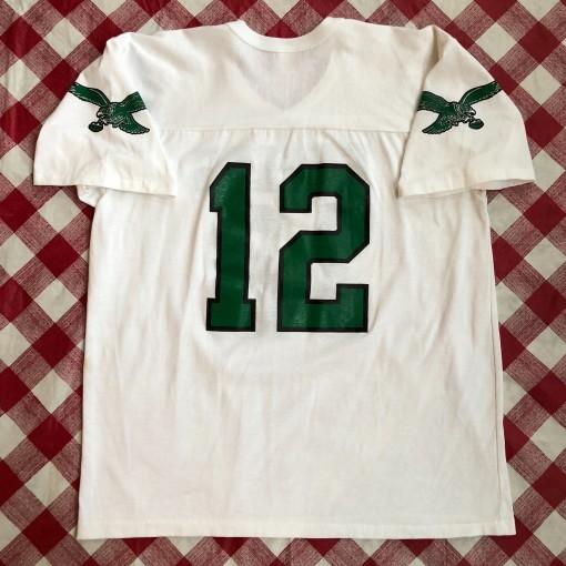 80's Randall Cunningham Philadelphia Eagles Rawlings NFL T Shirt Size XL