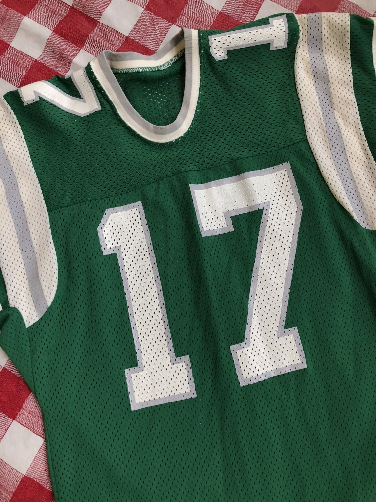 5396eed4609 80's Harold Carmicheal Philadelphia Eagles Sandknit NFL Jersey Size Medium