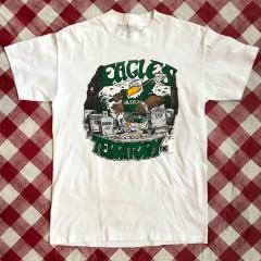 Vintage 1990 Philadelphia eagles territory NFL T-shirt size small
