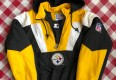 90's Pittsburgh Steelers Starter Pullover Jacket Size Medium