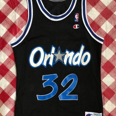 Vintage 90s Shaq Orlando magic champion nba Jersey size 36  small