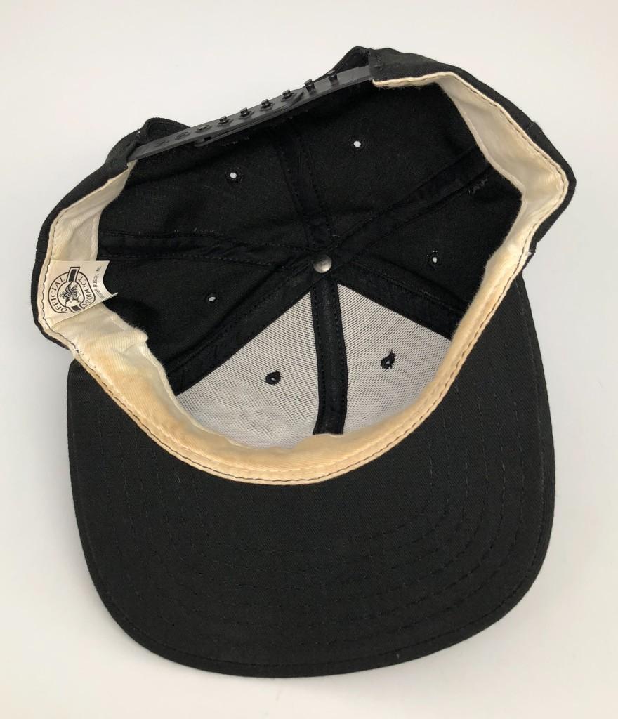 425468c4 90's Budweiser Beer Frog Snapback Hat | Rare Vntg