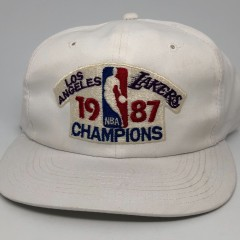 1987 Los Angeles Lakers Sports Specialtes NBA Champions Snapback Hat