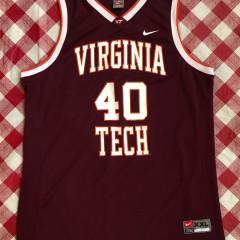 2006 A.D. Vassallo Virginia Tech Hookies Nike NCAA Jersey Size XXL