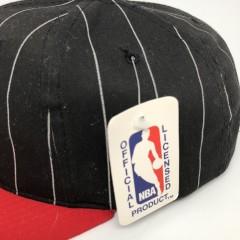 90's Philadelphia 76ers Starer Pinstripe NBA Snapback Hat