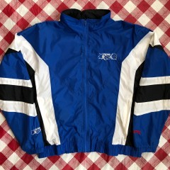 90's Orlando Magic Nutmeg NBA Windbreaker Jacket Size Large