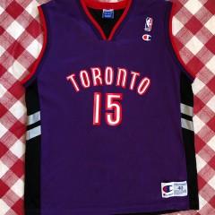 2000 Vince Carter Toronto Raptors Champion NBA Jersey Size 40