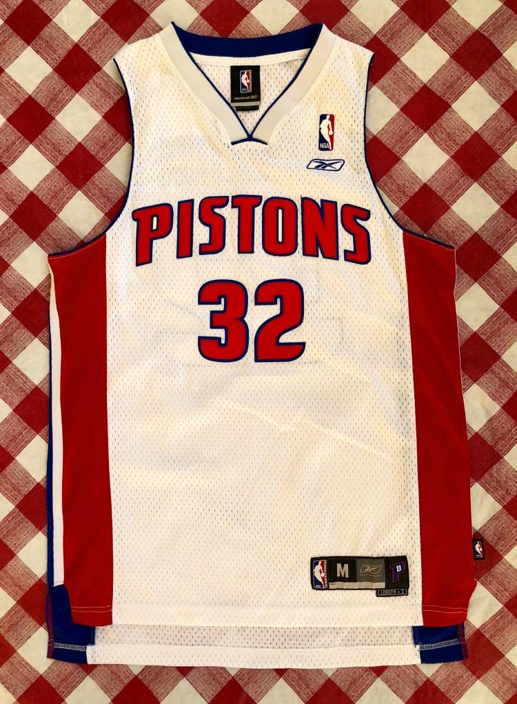 Detroit Pistons Basketball Jersey #32 Rip Hamilton