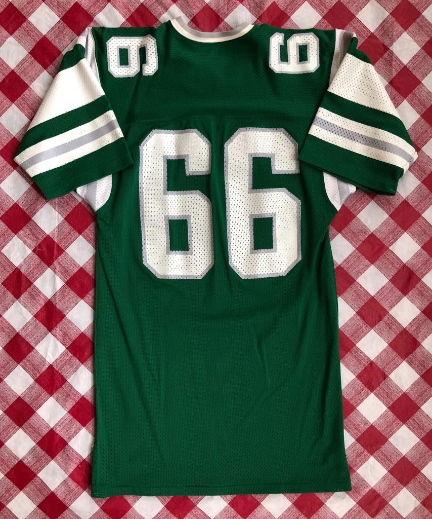 80 s Bill Bergey Philadelphia Eagles Sandknit NFL Jersey Size Large ... 02106d30f