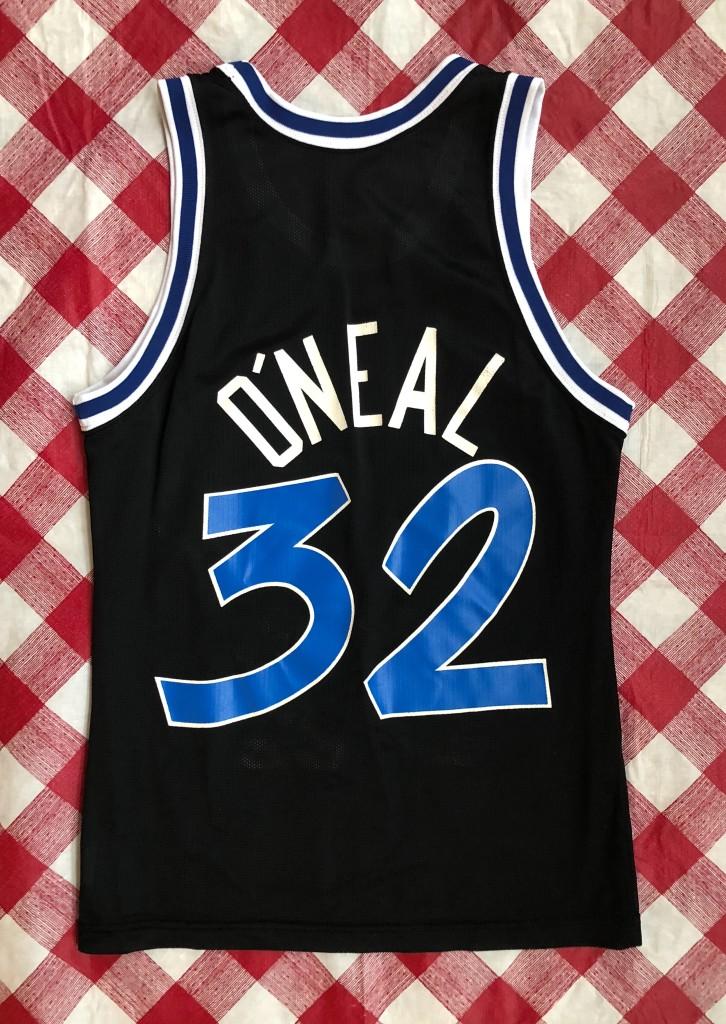 958b3b3c3da 1993 Shaquille O'Neal Orlando Magic Champion NBA Jersey Size 36 ...