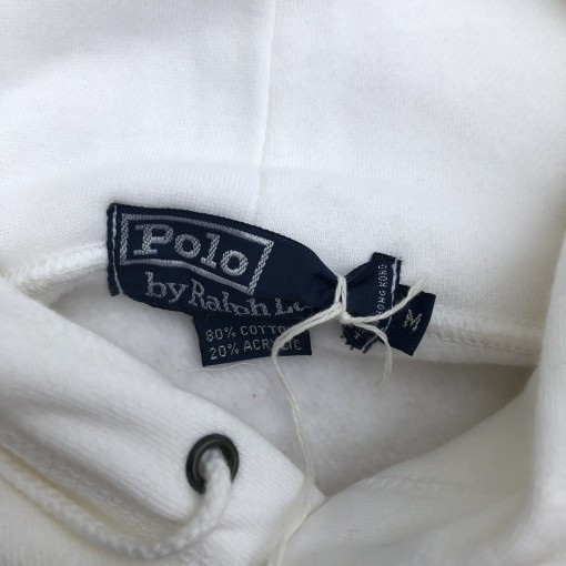 1992 Polo Ralph Lauren Sailing Team CP-RL93 Hooded Sweatshirt Size Medium