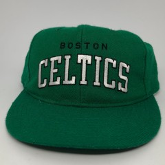80's Boston Celtics Starter NBA Arch Snapback Hat