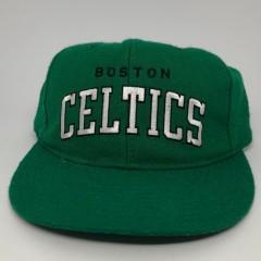 80's Boston Celtics Starter NBA Arch Snapback Hat