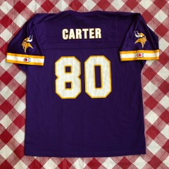 1998 Chris Carter Minnesota Vikings Champion NFL Jersey Youth Large XL