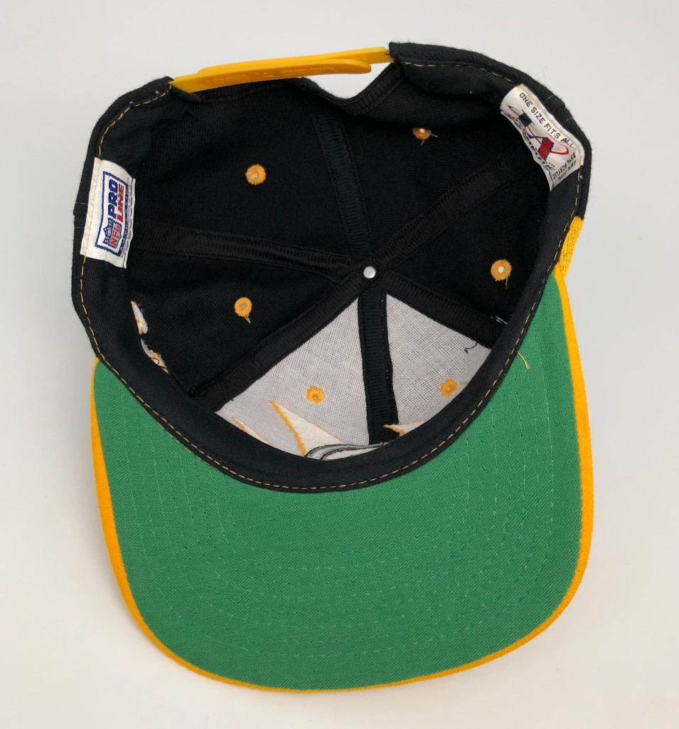 b5b5b768 90's Pittsburgh Steelers Logo Athletic Sharktooth NFL Snapback Hat. Add to  Wishlist loading