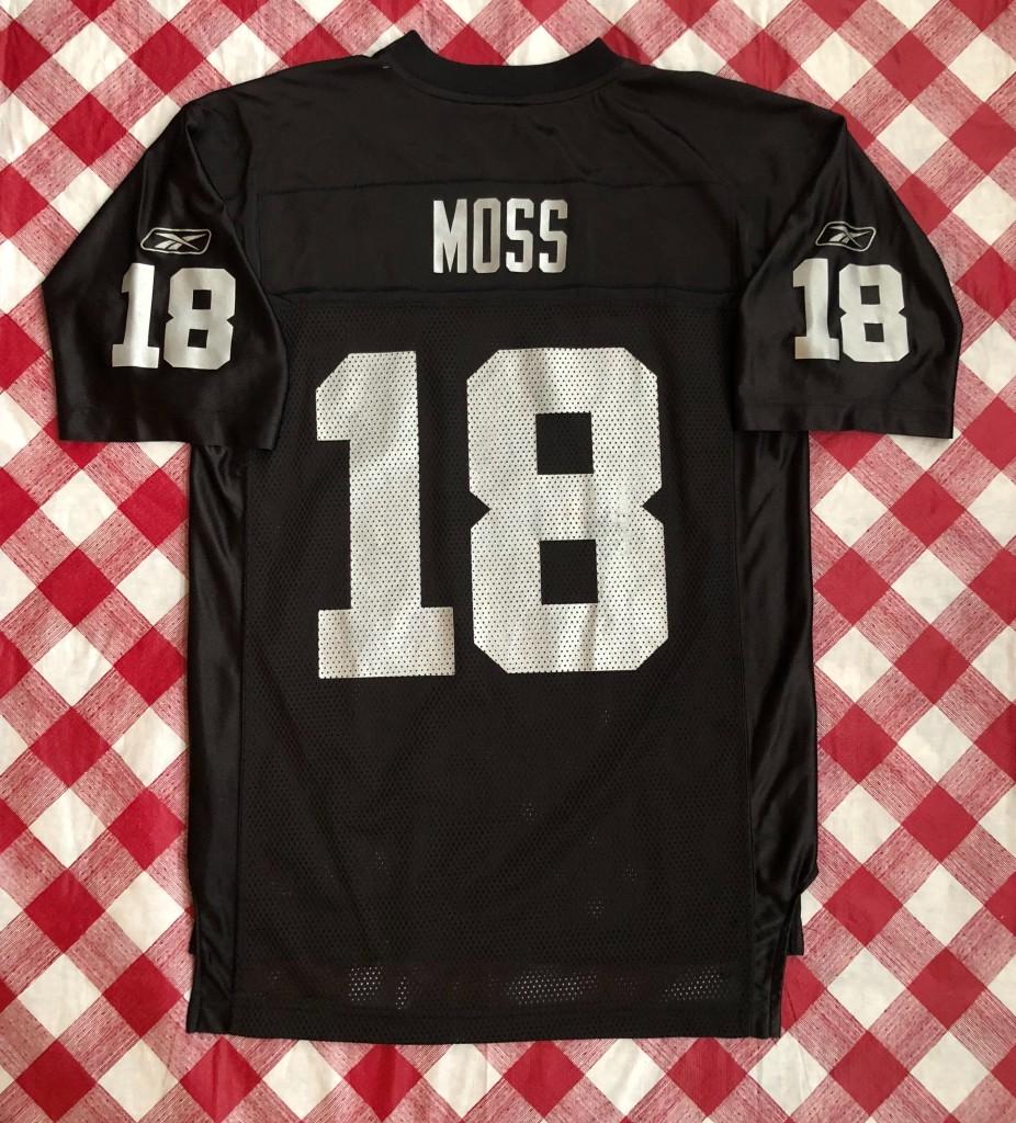 cc7d2d054 2005 Randy Moss Oakland Raiders Reebok NFL Jersey Size Medium