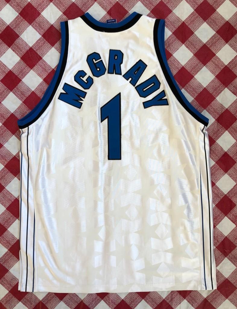 promo code b5211 e12f2 2001 Tracy McGrady Orlando Magic Champion Authentic White NBA Jersey Size 48