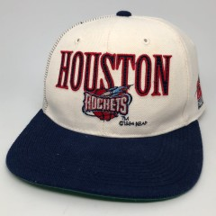 1994 Houston Rockets Sports Specailties Laser Dome NBA Snapback Hat