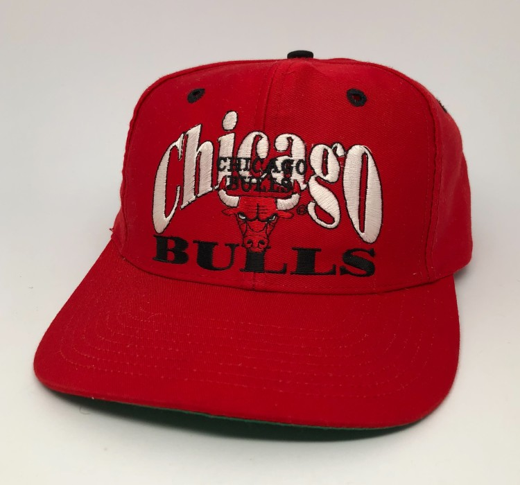 acb3dc52ff6 Vintage 90 s Chicago bulls the game limited edition nba SnapBack hat