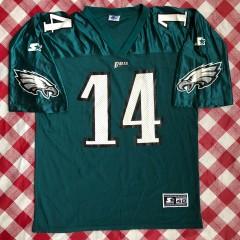 Vintage 90s Philadelphia eagles starter NFL jersey size large Ty Detmer